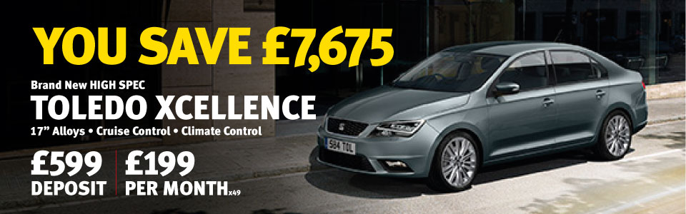 Brand new HIGH SPEC TOLEDO XCELLENCE